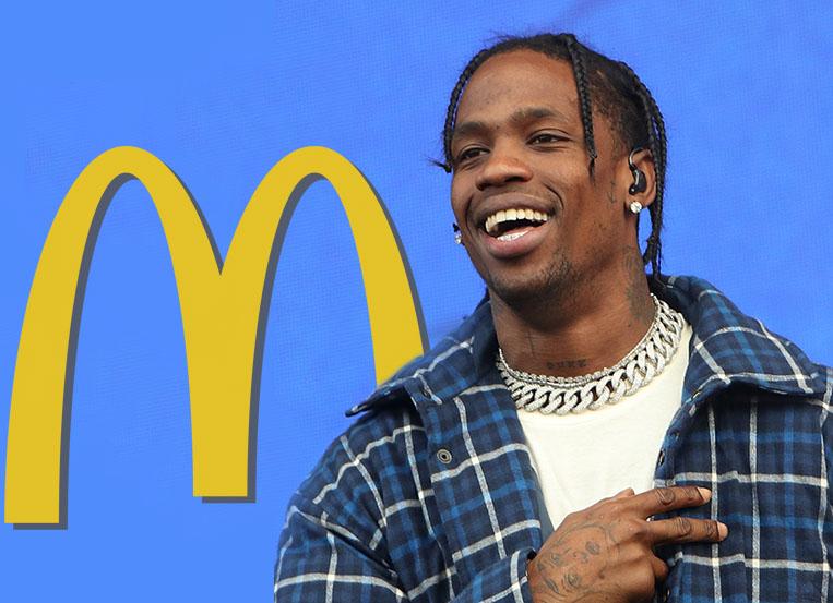 Travis Scott Gets A McDonalds Meal Named After Him: See The Order