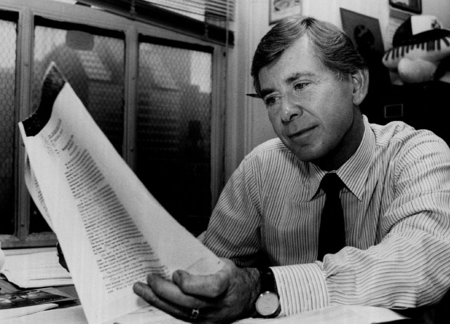WLS news legend Joel Daly passes away at 86
