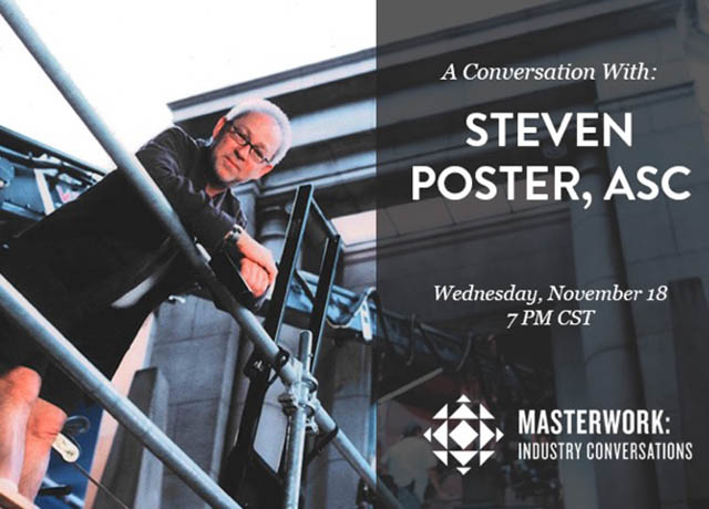 Conversation with Steven Poster at Chicago Filmmakers