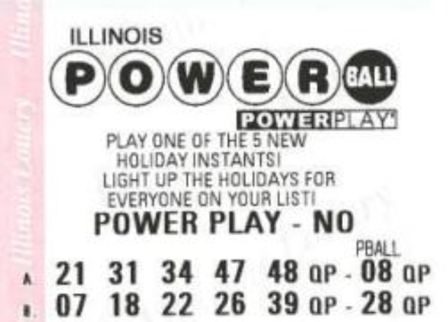 $550 Million Powerball Jackpot for tonight's drawing