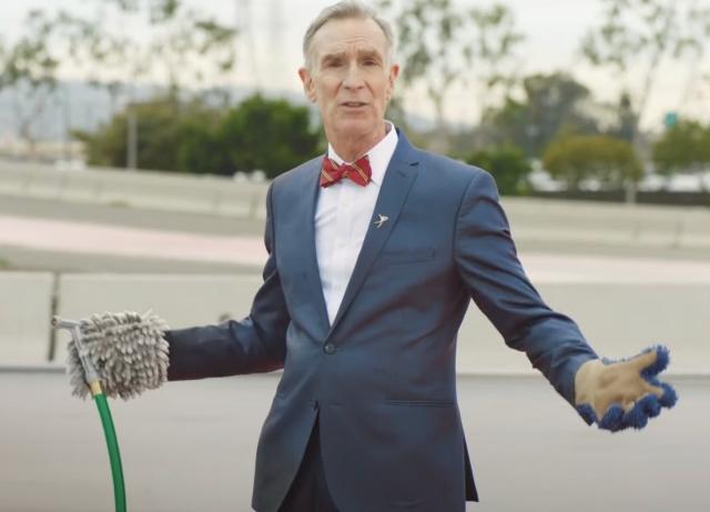 Porsche casts Bill Nye to teach Electric Taycan