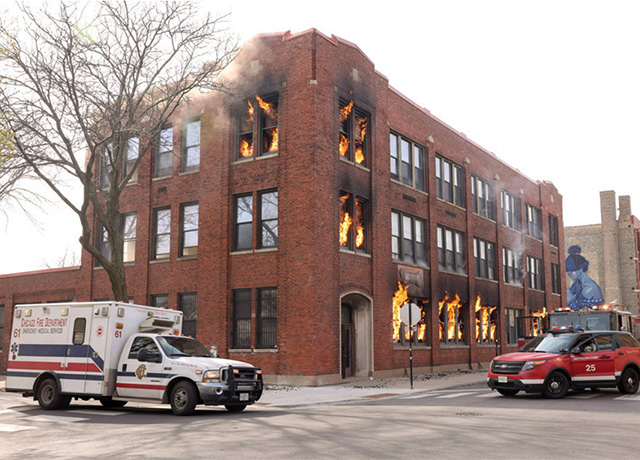 Chicago Fire set pics and promo for 'What Comes Next'