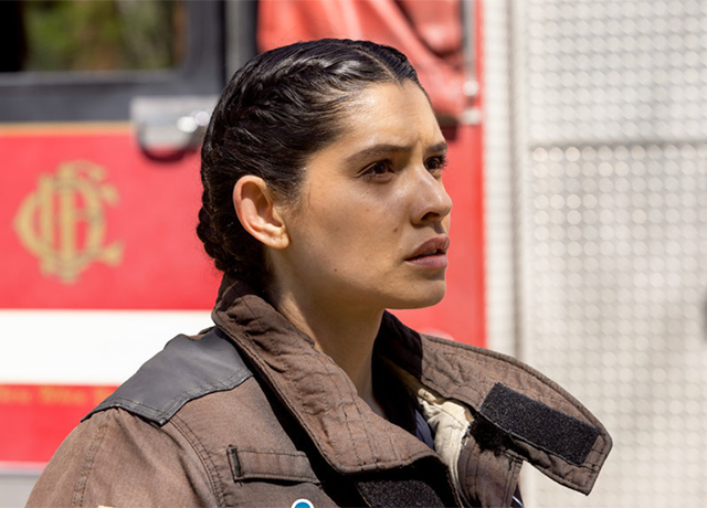 Chicago Fire set pics for 'Don't Hang Up'