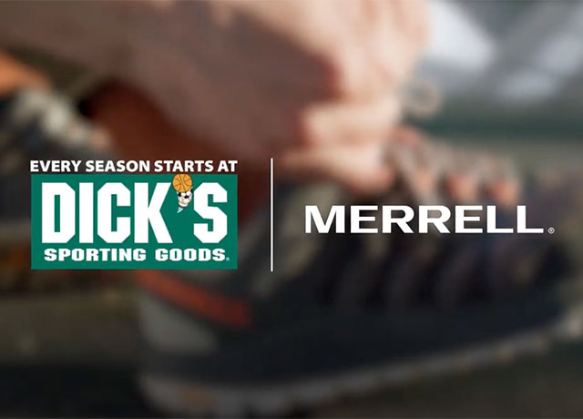 """Blue Chip's new Merrell campaign says """"Take a Hike"""""""