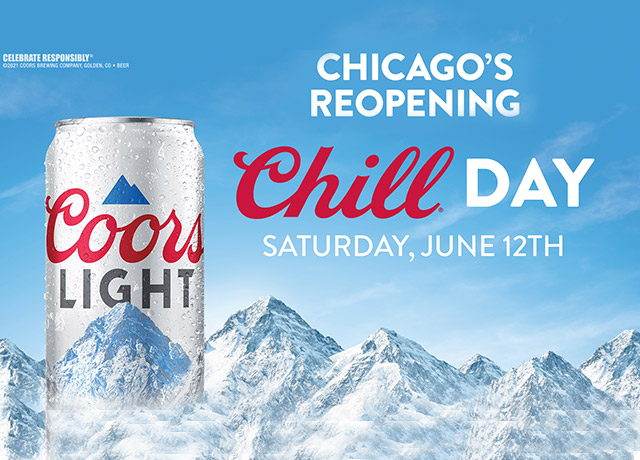 Coors celebrates reopening with Chicago Chill Day