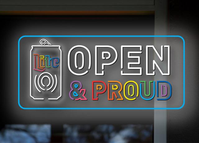 Miller Lite creates Open & Proud safe spaces for LGBTQ