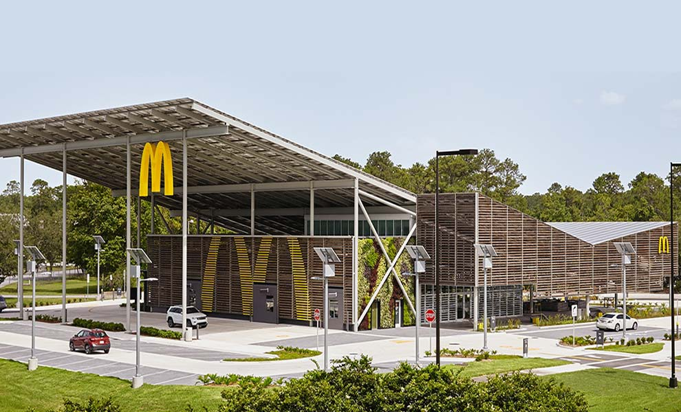 McDonald's & eBay go solar aiming for 100% renewable energy by 2025