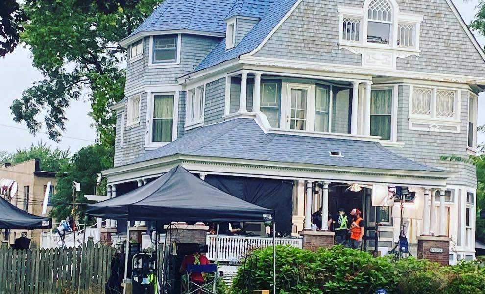 Exclusive set photos of Lightyears filming on location in Blue Island