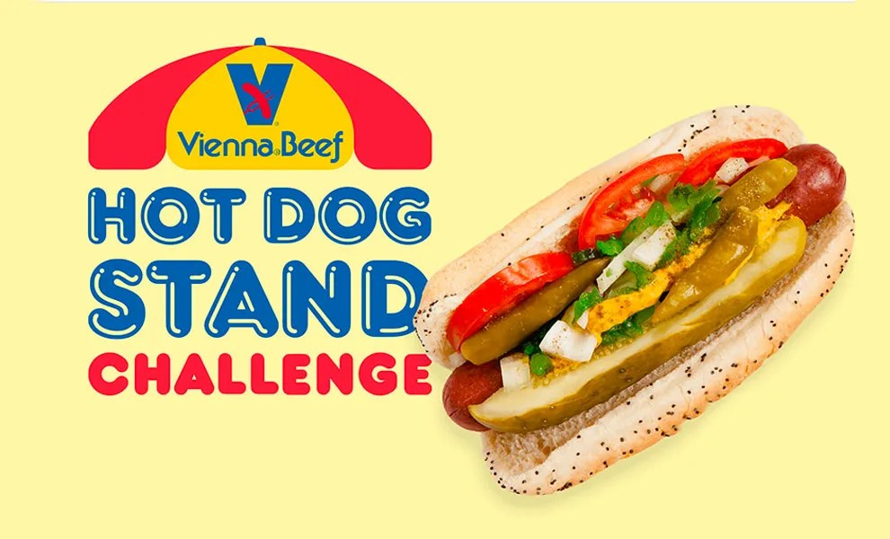 Laughlin Constable launches Vienna Beef Hot Dog Stand Challenge