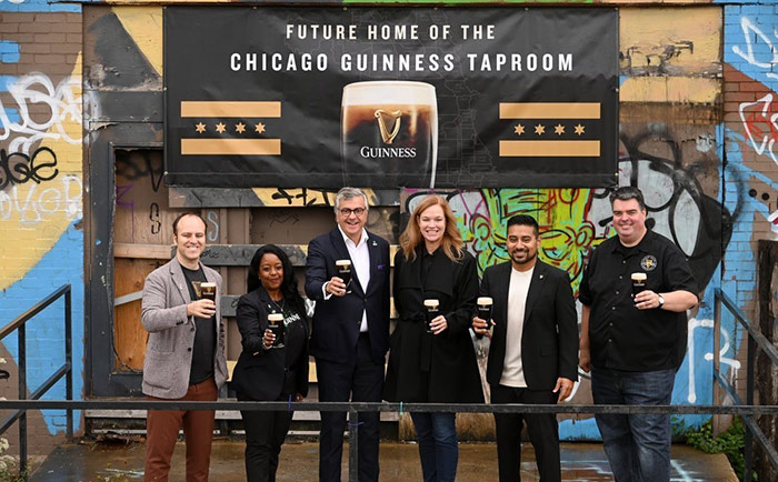 Guinness announces Chicago taproom in West Loop