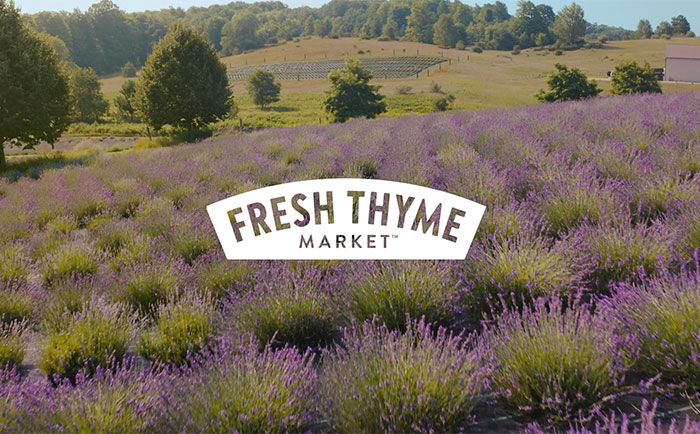 The Distillery Project says 'Get Real' in Fresh Thyme Market campaign
