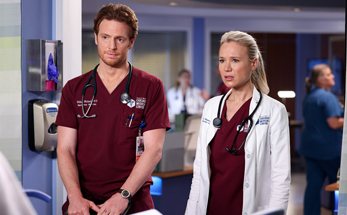 Chicago Med: this week's pics & promo 'To Lean In or To Let Go'