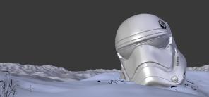 Making of TFA Fan Art Modelling