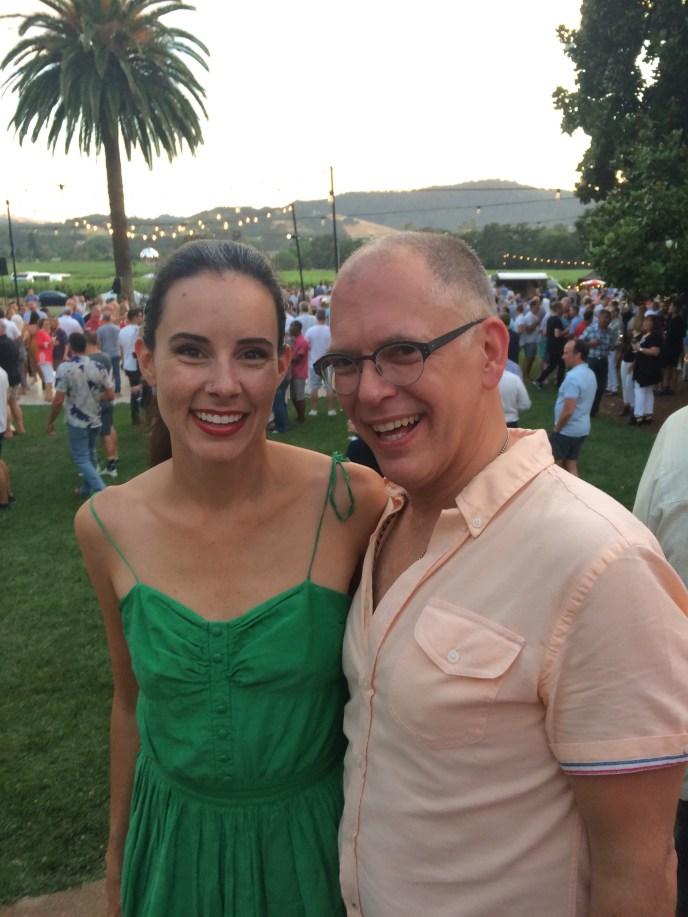 With Jim Obergefell at Gay Wine Weekend