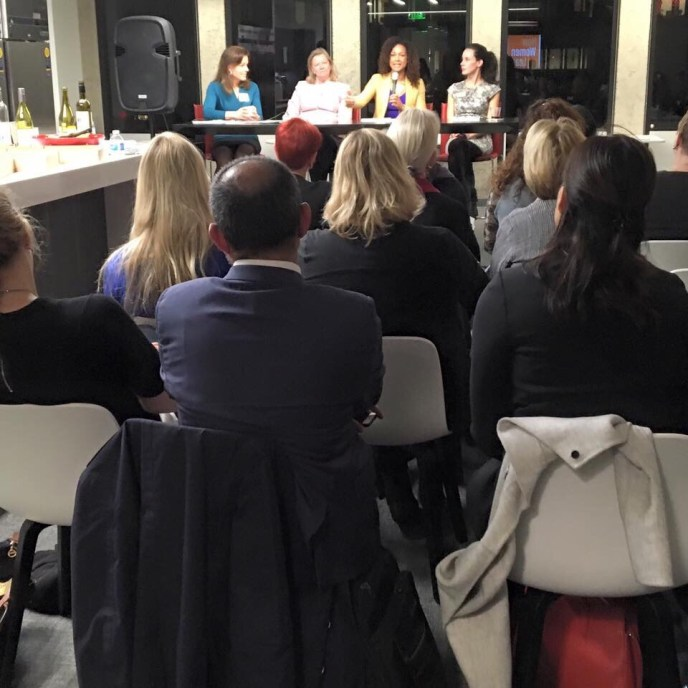 Speaking at How Women Lead
