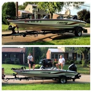Ryan's New Bass Boat