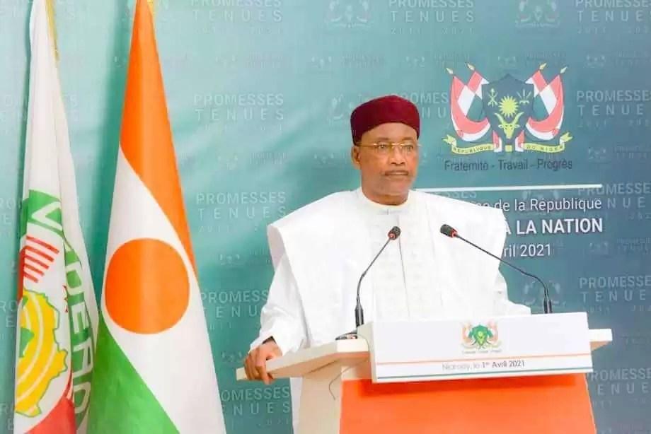 Niger : Les adieux du président Mahamadou ISSOUFI