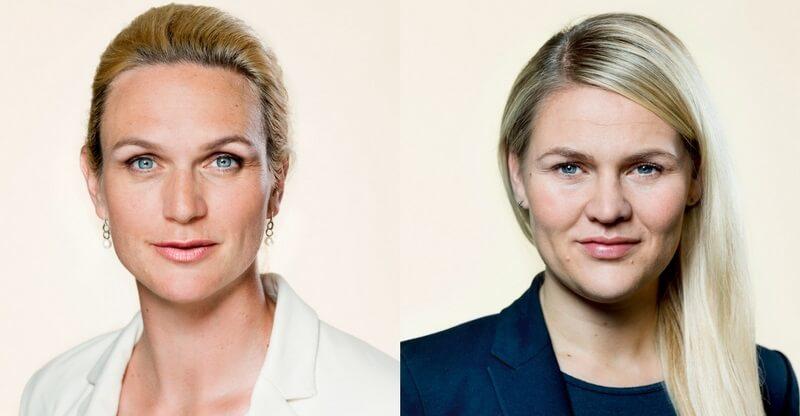 LA bør gå efter Ligestillingsministeriet og sætte enten Merete Riisager (tv.) eller Laura Lindahl (th.) i spidsen for ligestillingspolitikken i Danmark. Billede: Ft.dk, fotograf: Steen Brogaard.