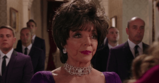 Joan Collins Actress Royals