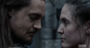 BBC The Last Kingdom Uhtred and Brida