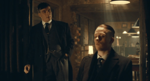 tommy and john shelby peaky blinders season 3