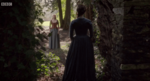 poldark demelza and elizabeth