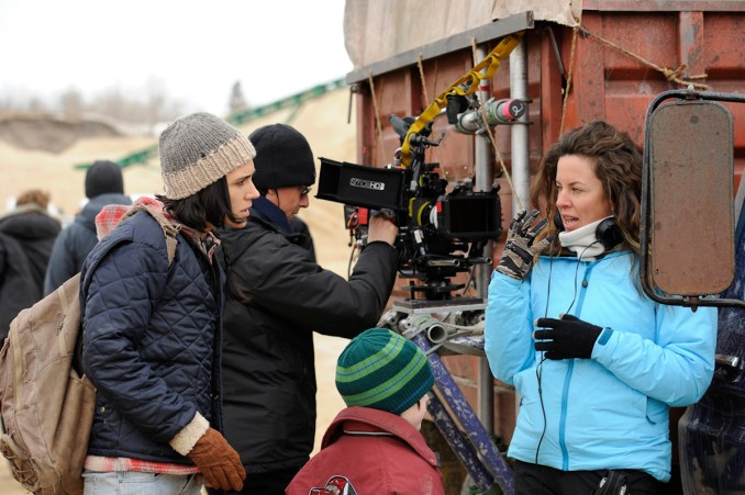 Left to right: Jennifer Connelly and Director Claudia Llosa Photo by Jose Haro, Courtesy of Sony Pictures Classics
