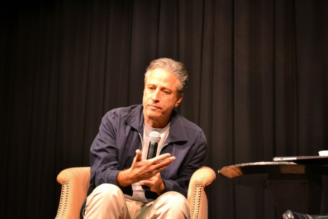 Rosewater Director Jon Stewart at the NYC Press Junket. Photo by Liz Whittemore