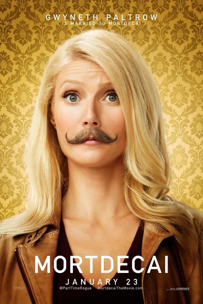 Mortdecai Gwyneth poster