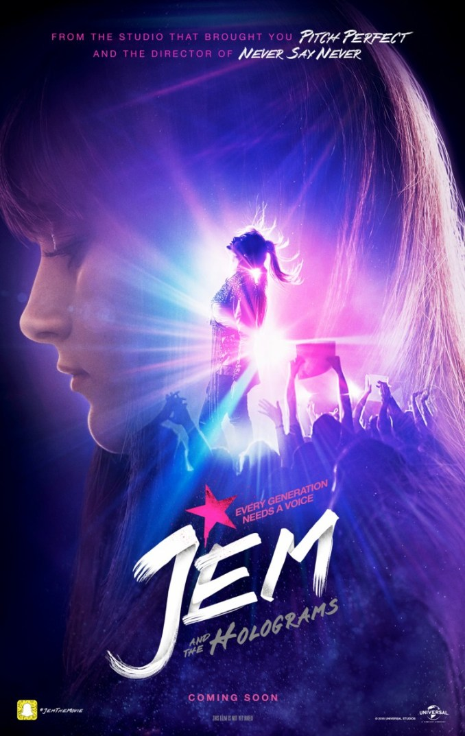 Jem & the Holograms postser