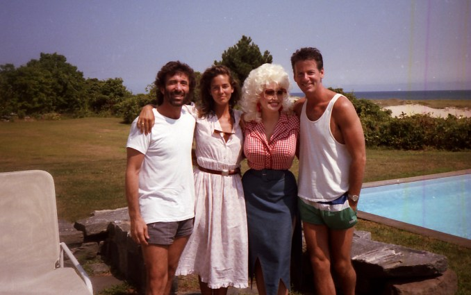 Calvin Kline, Dolly Parton