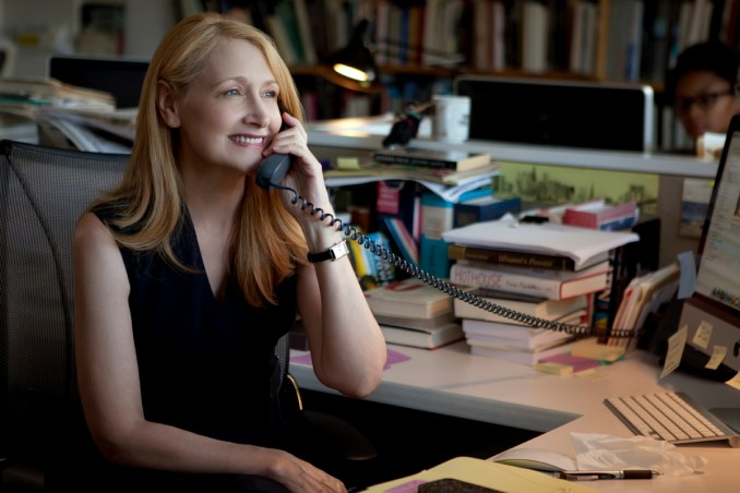 LTD_09-07-13_139_R_CROP Patricia Clarkson stars as Wendy in Broad Green Pictures upcoming release, LEARNING TO DRIVE. Credit: Linda Kallerus/Broad Green Pictures
