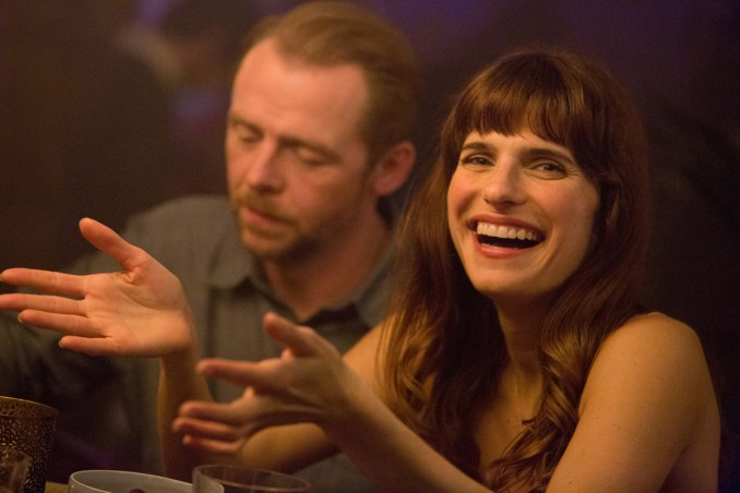 Jack (Simon Pegg) and Nancy (Lake Bell) in Ben Palmer's Man Up