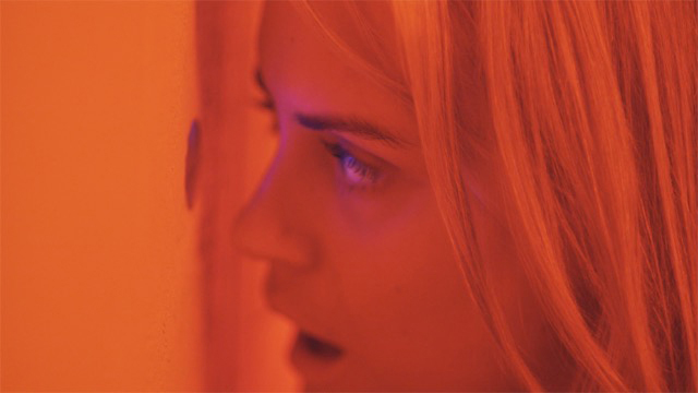Taylor Schilling (Emily) in a scene from THE OVERNIGHT. Photograph by John Guleserian