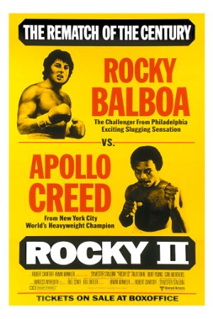 Rocky II poster