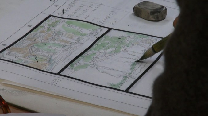 kingdom - hand drawing