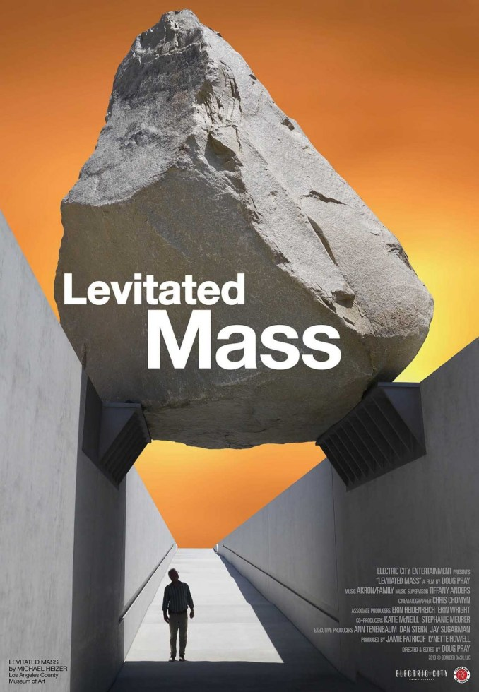 levitated mass poster