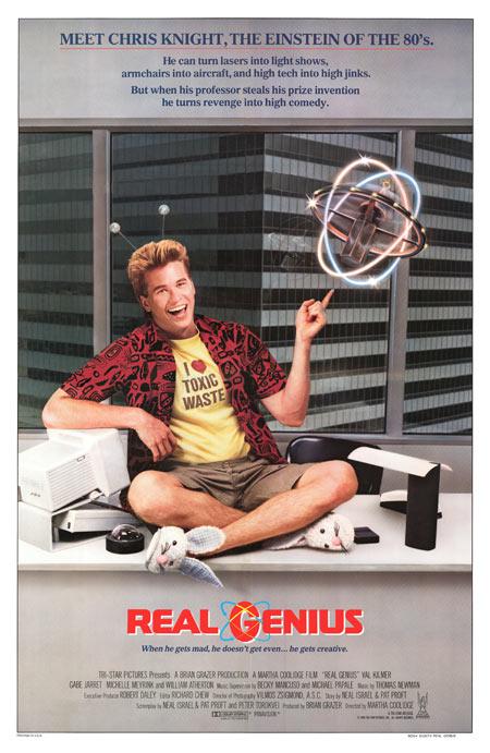 real genius poster
