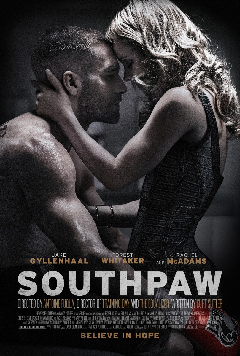 advanced screenings of southpaw nationwide amc stubs reel amc theaters is sponsoring a bunch of advanced screenings for the upcoming boxing drama southpaw starring jake gyllenhaal and rachel mcadams on tuesday