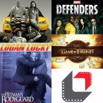The reel review marvel the defenders game of thrones review tube talk the hitman's bodyguard logan lucky movie film rotten tomatoes