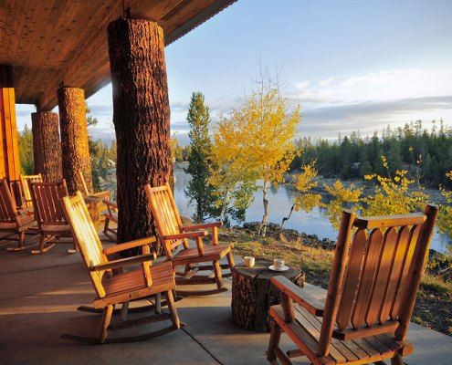 Henrys Fork Lodge Setting