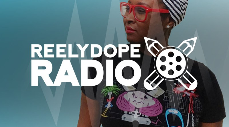 Designer and technologist Brittany is pictured for the 48th episode of REELYDOPE Radio, a podcast made in oakland.