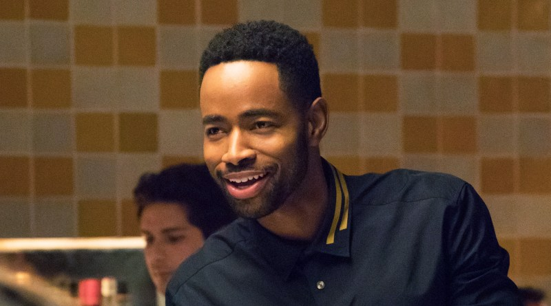A close up shot of Jay Ellis as Lawrence in the 2017 HBO dramedy, Insecure.