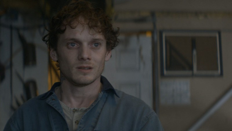 Pictured: Anton Yelchin in a scene from the 2017 sci-fi crime mystery film, Rememory. photo by Greg Middleton.