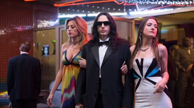 James Franco as Tommy Wiseau in the 2017 comedy, The Disaster Artist.