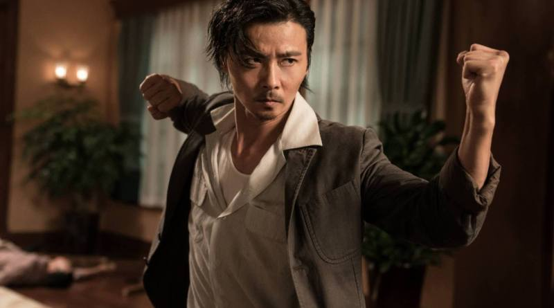 Max Zhang as Tin Chi ready to fight in Master Z: The Ip Man Legacy