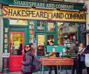 A booklover's paradise : Shakespeare and Company, Paris