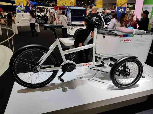 Butchers bicycle iaa 2018 vw lastenrad cargobike