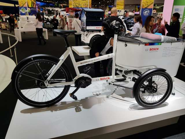 Butchers bicycle iaa 2018 vw lastenrad cargobike