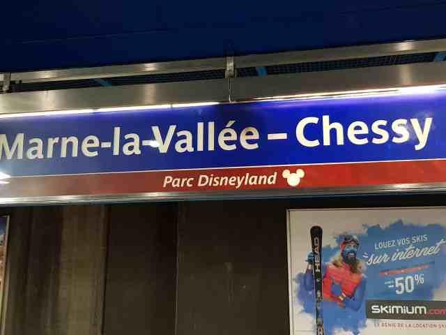 Disneyland Paris im Winter